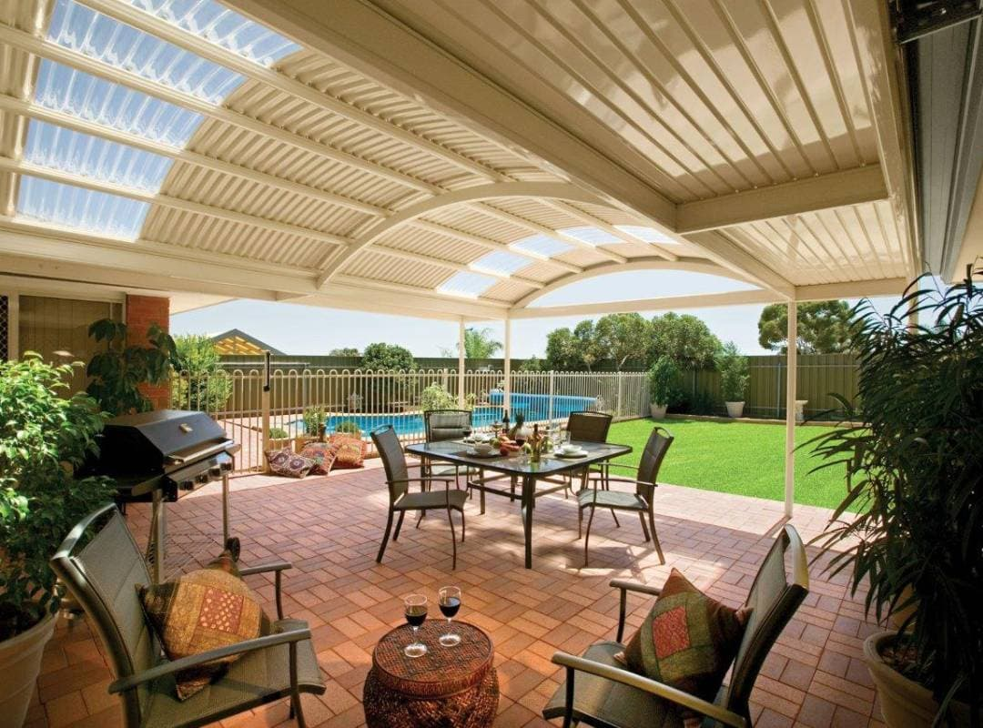 Patios Verandah Carport Outback Curved 07