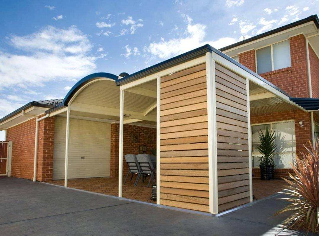 Patios Verandah Carport Outback Curved 24