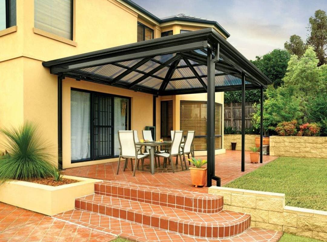 Patios Verandah Carport Outback Gazebo Hip 02