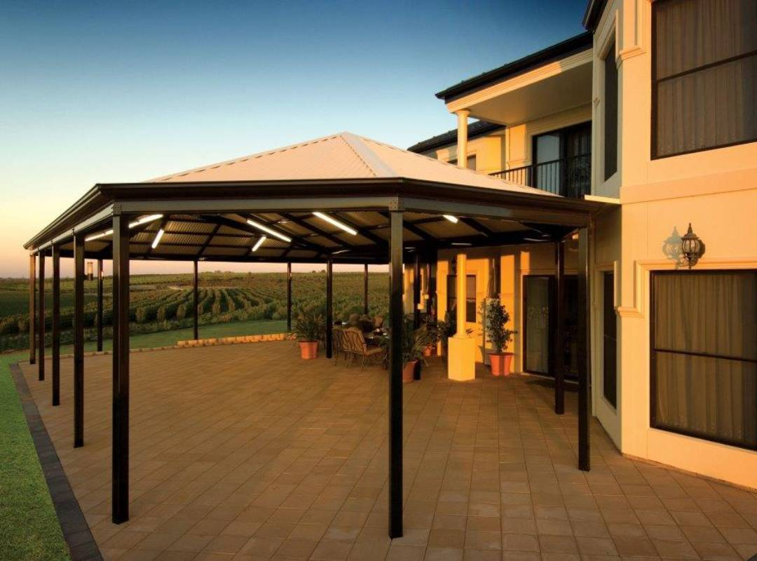 Patios Verandah Carport Outback Gazebo Hip 07