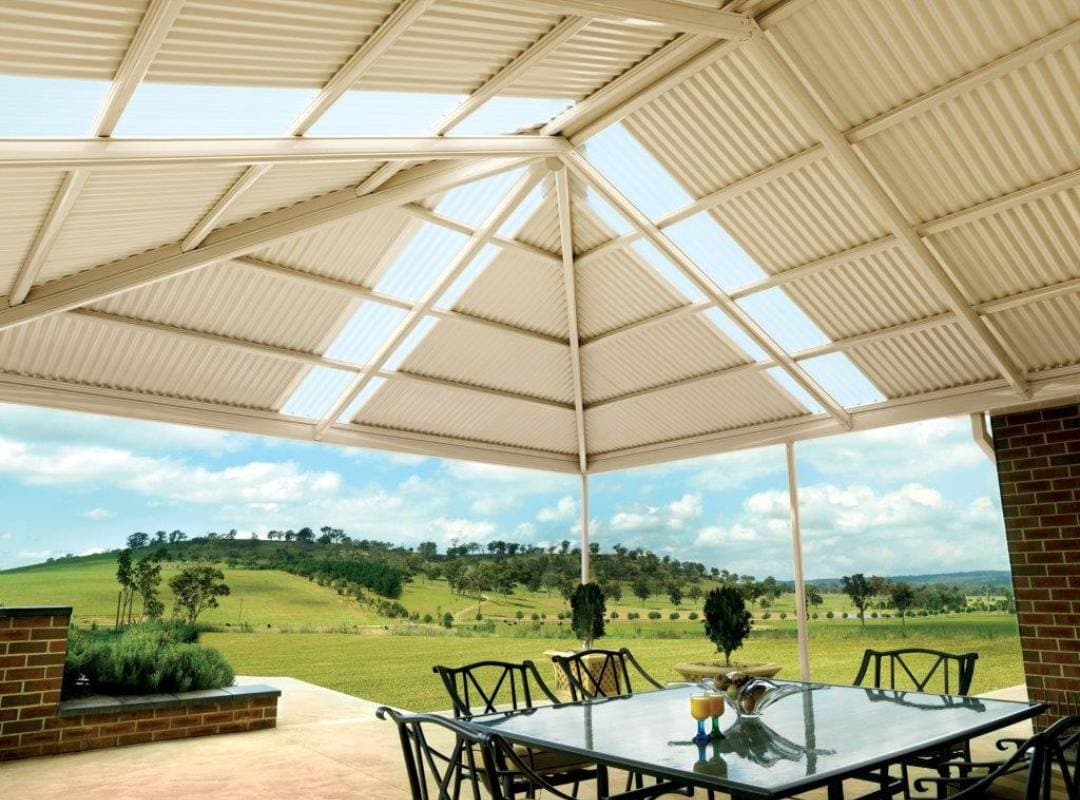 Patios Verandah Carport Outback Gazebo Hip 08