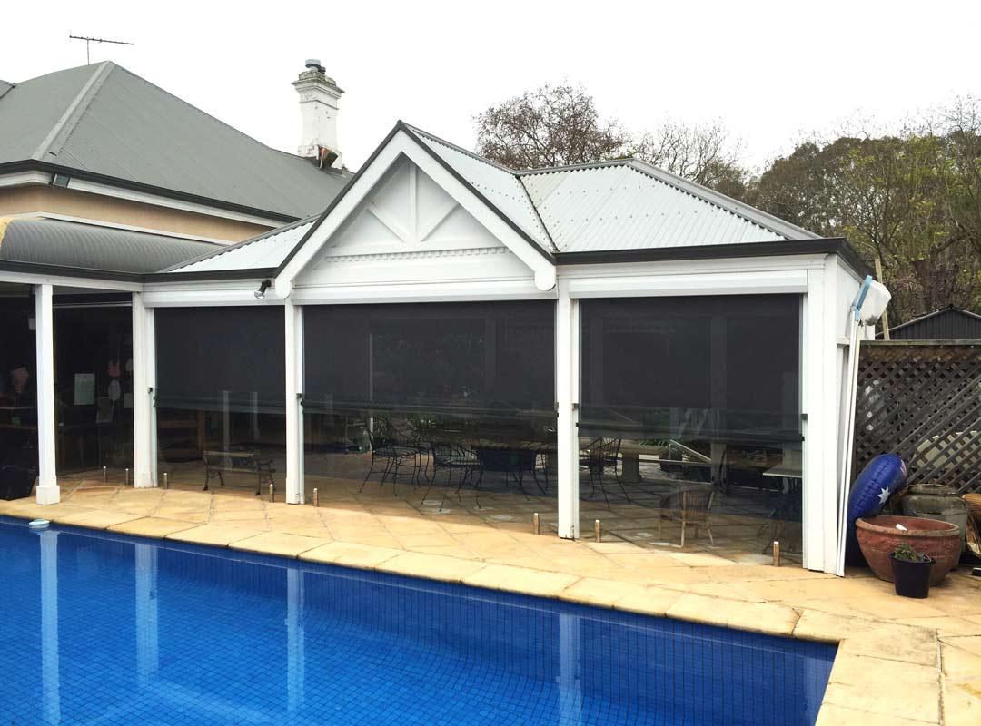 Bullnose verandahs Adelaide